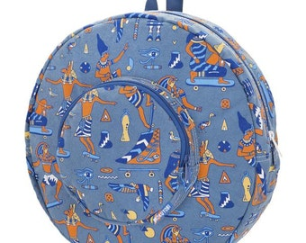 Circle Backpack Egyptian Skateboard