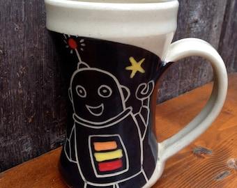 Robot Mug / Gifts for Men / Geeks