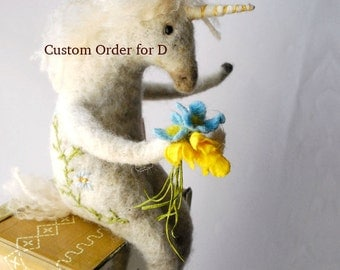 A handmade Custom Order for D