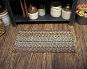 Miniature Dollhouse Braided Rug Hand Braid Mat