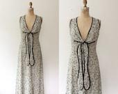 vintage sundress / 70s sundress / Silk Street Market dress