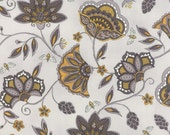 Light Grey Gold Black Bee Creative Fabric - Moda - Deb Strain - 19751 14