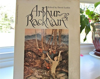 """40 color Illustrations by Arthur Rackham  """" Beloved Enchanter."""" Ed. David Larkin, 1975  Fantasy World. Story Illustrator. Fairy Tales. Art."""
