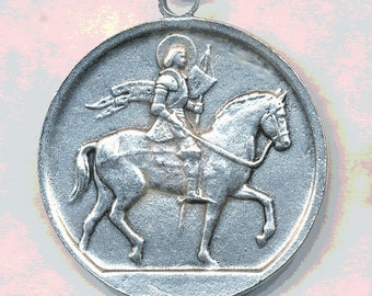 JOAN OF ARC Coin  Cast from Original 41mm