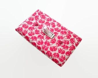 Elephants Light Switch Cover - Pink Elephant Switch Plate Cover - Girls Nursery Decor - Elephant Nursery - Elephant Pink Baby Room