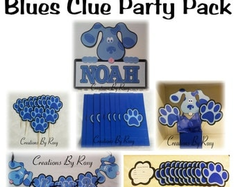 Blues Clue Party package set