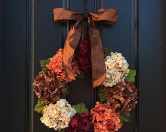 FALL WREATH SALE, Thanksgiving Wreath, Fall Decor, Front Door Wreaths, Holidays, Harvest Pumpkin, Autumn Wreaths, Fall Wreath