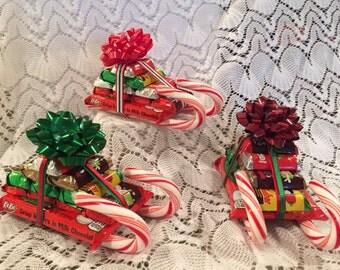 Kit Kat Candy Gift Sleigh, Kit Kat Sleigh, Candy Sleigh