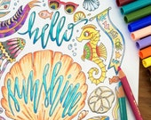 Encourage and Uplift: An Adult Coloring Book