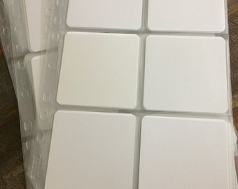 Sleeves for 3.5  inch art tiles, perfect for Zentangle 60 generic tiles included