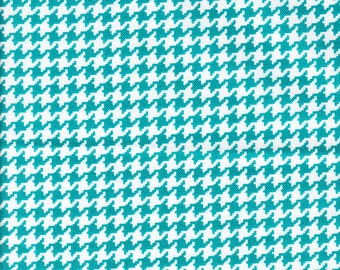 Michael Miller Tiny Houndstooth Marine  - Fabric 1 yard off of bolt (more available)