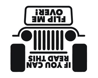 Jeep Vinyl Decal Car Sticker