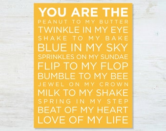 You are the Love of My Life poster