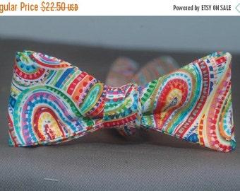 Colorful Bazaar Paisley  Bow Tie