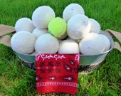 """Dryer Balls. Set of 6. Support """"Shepherds Gift: GM1 for HD"""" Non-Profit."""