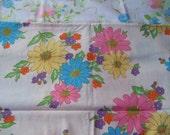Reserved for Terri . . . . vintage floral pillowcase