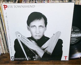 Pete Townshend All The Best Cowboys Have Chinese Eyes Vintage Vinyl Record