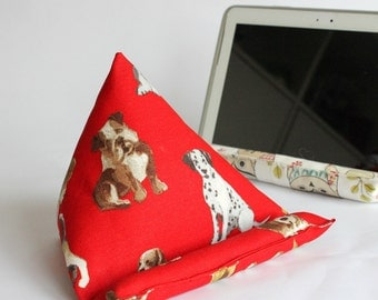 iPad or Samsung Tablet Stand with Dogs