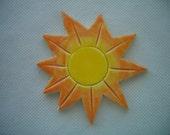 OT - Small BRILLIANT SUN - Ceramic Mosaic Tile