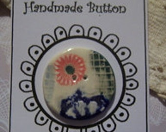 Handmade Button #8996
