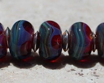 SMITTEN Artisan boro beads by JRG