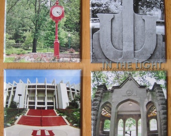 Magnets - Indiana University Hoosiers Photography - Set of 4