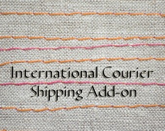 Expedited Shipping Option using International Courier Service for 1 item
