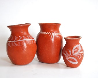 Vintage Collection of Mexican Pottery