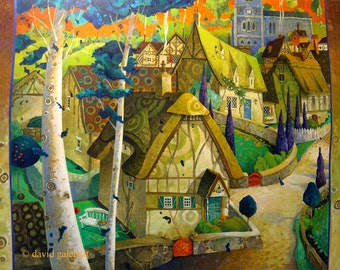 the dreamy village
