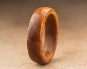 Size 6.5 - Guayacan Wood Ring No. 387