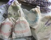 Lavender Sachets - Pure Lavender Buds