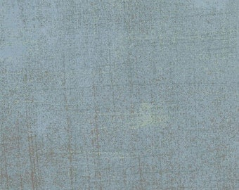 Basic Grey Grunge in Avalanche from Moda  your choice of length