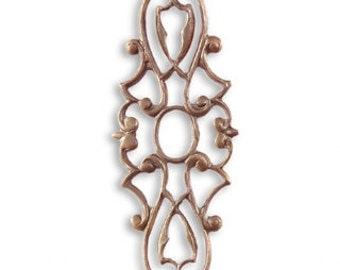 Deco Layering Window, Vintaj Natural Brass Designer Series, F029