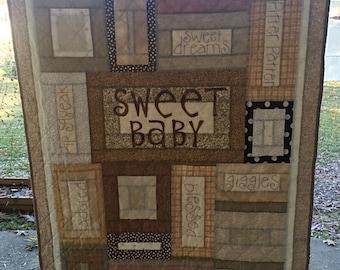 Sweet Baby Crib Quilt