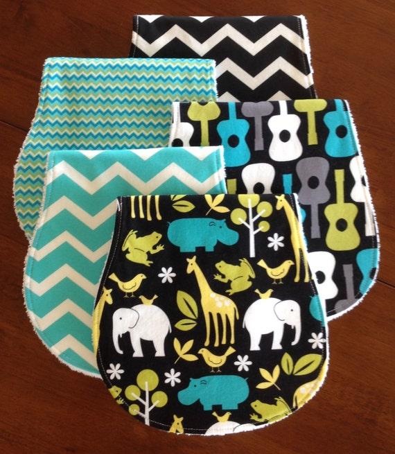 Wash Burp Cloths Before Use: Baby Burp Cloths-Burp Cloths-Baby Shower Gift-Burp Cloth-Burp