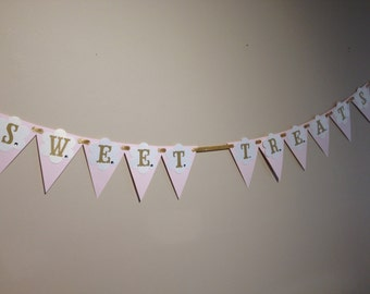 Sweet Treats Candy Bar Banner - Ready to Ship