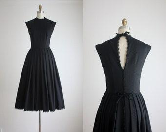 1950s nightingale dress
