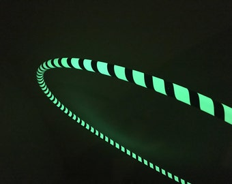 Glow in the Dark Hula Hoop! Glows for 10 HOURS!