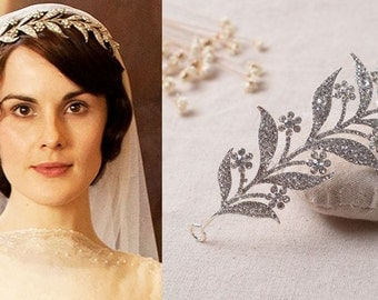 Lady Mary Wedding Tiara Austrian Crystal