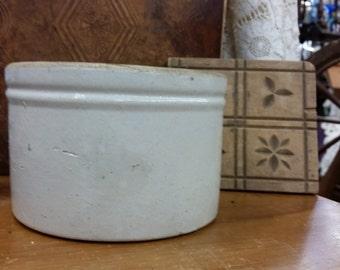 Small Antique Butter Crock from Rustysecrets