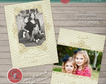 Christmas Photo Card Collection 15-9 ****Instant Download****