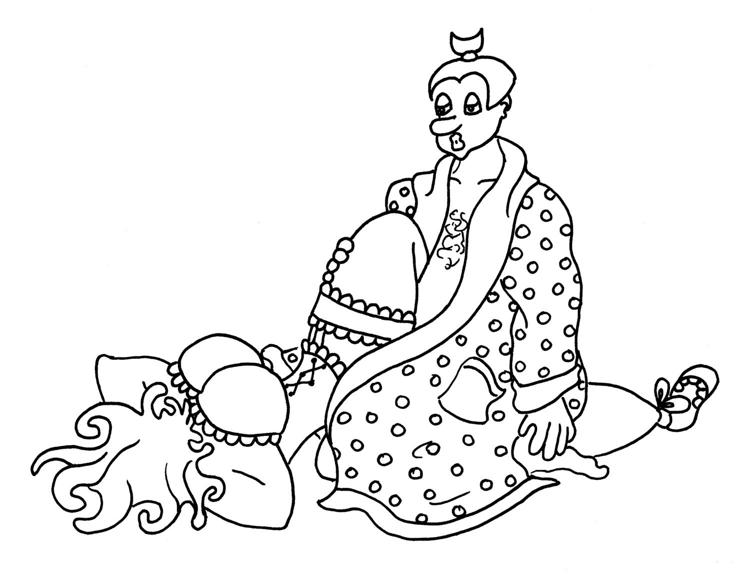The Star Funny Sexy Coloring Pages for Adults from the
