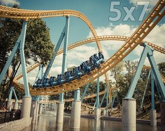 Hersheypark Skyrush Roller Coaster Print