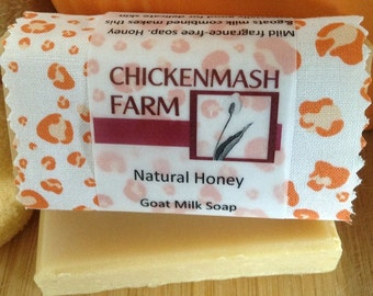 Natural Honey Soap | Handmade Goat Milk Soap from Chickenmash Farm