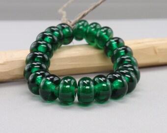 25 % off- 20 Spacer - Handmade Lampwork Beads - S 12