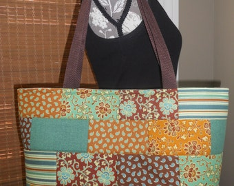 "The ""EMMA"" Tote - Quilted Tote Bag"