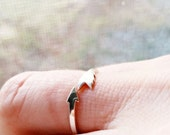 Cupid's Arrow 3d Printed Ring