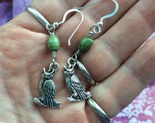 Animal Spirit Sacred Jewelry- Owls for your Ears.