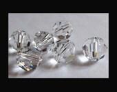 4mm Crystal Swarovski Round Beads - (63)