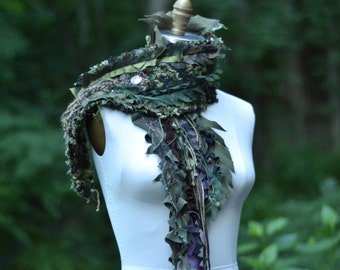 Military style steampunk textured Scarf